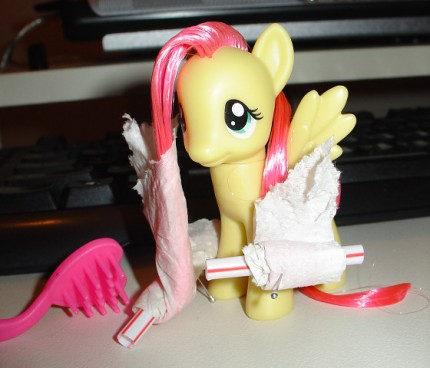 Fluttershy is so adorable.