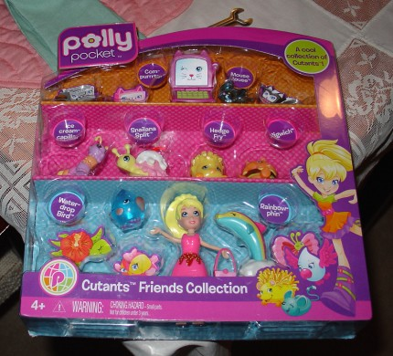 Polly Pocket Cutants Friends Collection