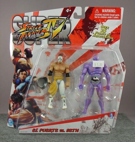 Street Fighter IV - El Fuerte vs Seth