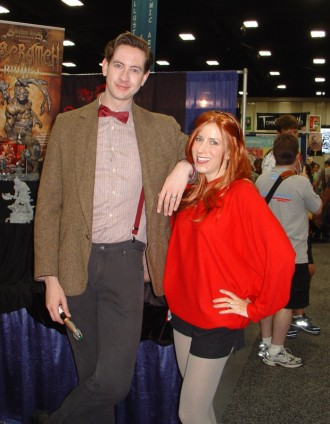 The 11th Doctor and Amy Pond