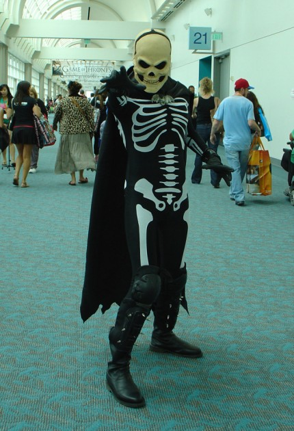 Skeleton man!