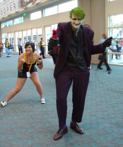 Photobombing the Joker gets you bombed for real.