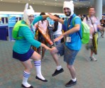It's blurry because they're ADVENTURING!
