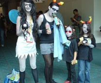 The family that cosplays together stays together.