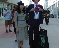Lois Lane and Superman of a kinder, gentler era.