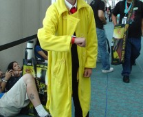 I wish I had a banana yellow trenchcoat.