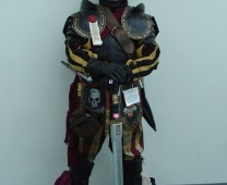 No idea who his character is, but this guy is rocking an awesome outfit.