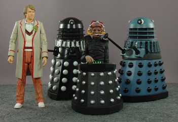 Doctor Who Resurrection of the Daleks 4-pack