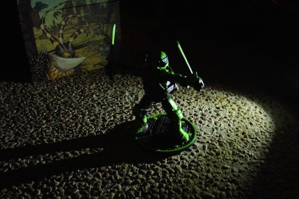 Night Shadow Leonardo, shadowed by night!