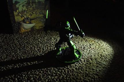 Night Shadow Leonardo, shadowed by night!