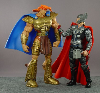 Hero Hercules (from 1997!) and Hasbro's 6-inch movie Thor