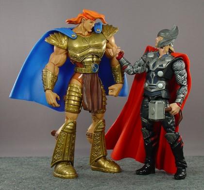 Hero Hercules (from 1997!) and Hasbro's 6-inch movie Thor