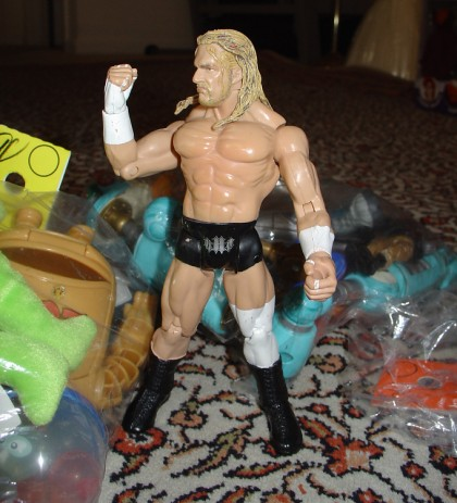 Triple H for $0.30? I'll take it!