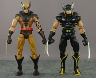Dark Wolverine (masked variant) with Red Hulk Wave Wolverine (black variant)