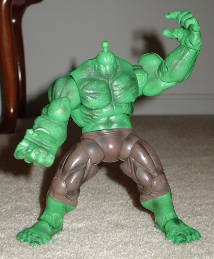 HULK SMASH... as soon as Hulk get head and new hand.