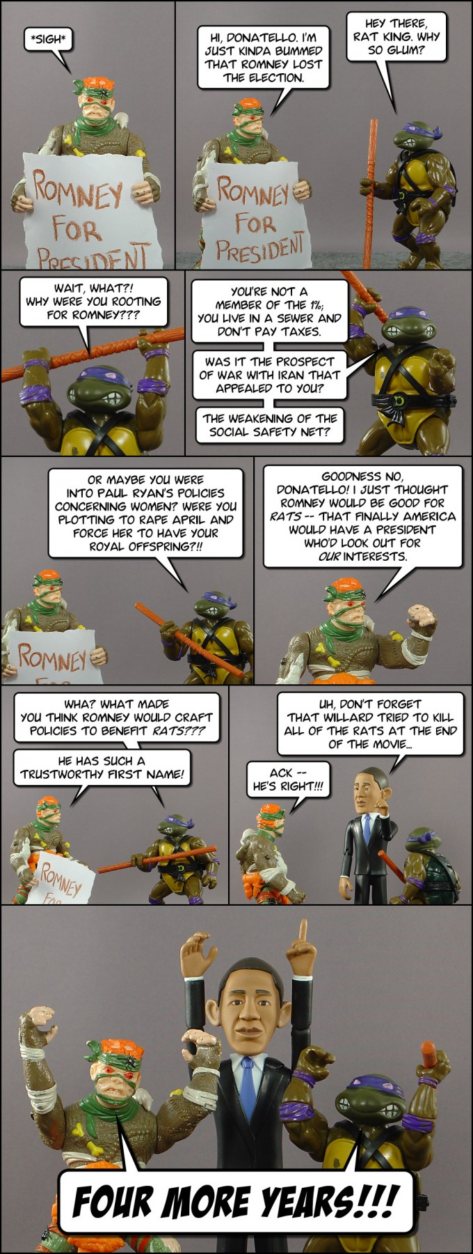 Dusty Plastic HELL #8: Lord Ha'ntaan's Politics
