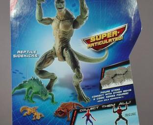 The Lizard package cardback
