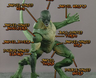 The Lizard is superposeable.