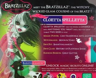 Cloetta Spelletta cardback