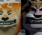 Dogpound closeup and animation comparison