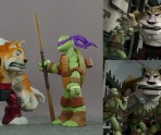 Dogpound is really short compared to his animated counterpart.