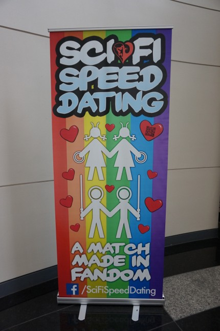 Sci-Fi Speed Dating: A Match Made in Fandom. Not mentioned: $20 entrance fee.
