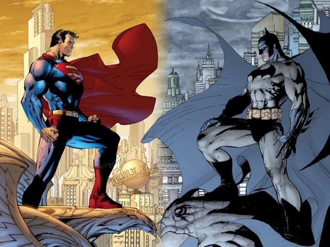 Superman vs Batman (Jim Lee artwork)