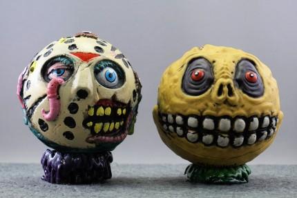 Madballs Jason with Skull Face (Kidrobot foam series)