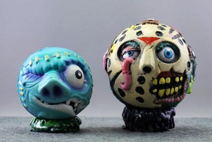 Madballs Jason with Aargh (1986 American Greetings series)