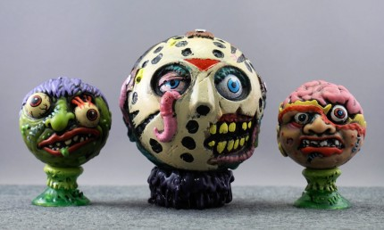 Madballs Jason with Slobulus and Bash Brain (Kidrobot blind-boxed series)