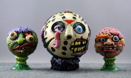 Madballs Jason with Slobulus and Bash Brain (Kidrobot blind-boxed series)
