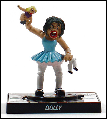 Dolly frightens me.