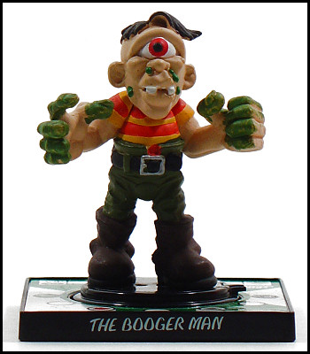 The Booger Man needs a better name.