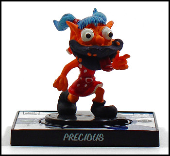 Precious is a godsend in the world of Creepy Freaks.
