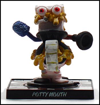 Potty Mouth spews urine.