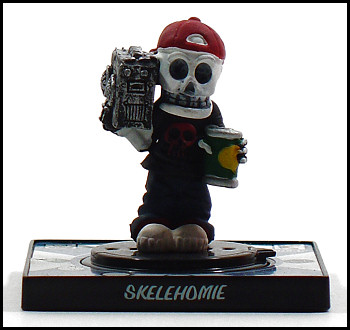 Skelehomie is the Pikachu of the Creepy Freaks.