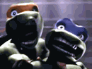 Screaming CGI Turtles.