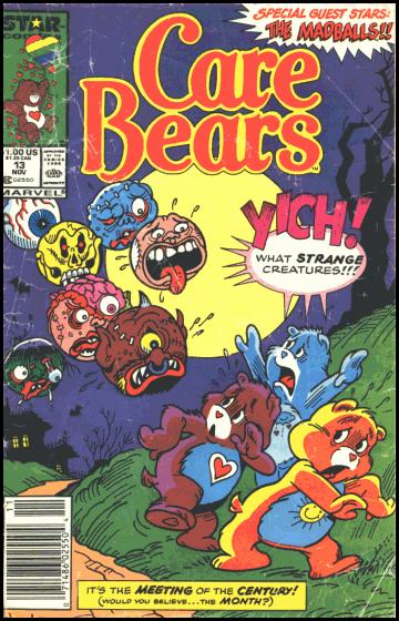 The Care Bears meet the Madballs!