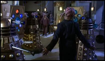 A Human Dalek. Really.