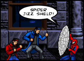 Spider Jizz Shield!